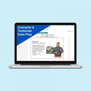 Product Image Contractor & Technician Exam Prep
