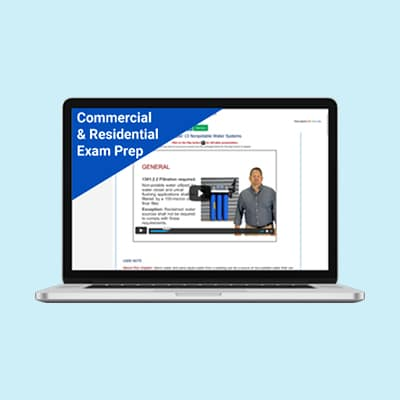 Product Image Unlimited Commercial and Residential Plumber Exam Prep Mississippi