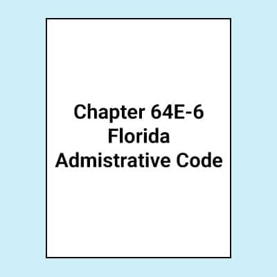 Book Image 64E-6 Florida Administrative Code