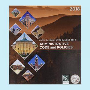 Book Image North Carolina Administrative Code and Policies 2018 Edition
