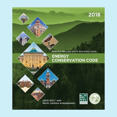 Book Image North Carolina Energy Conservation Code