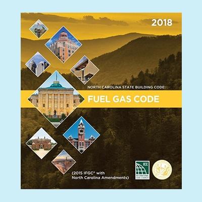 Book Image North Carolina Fuel Gas Code