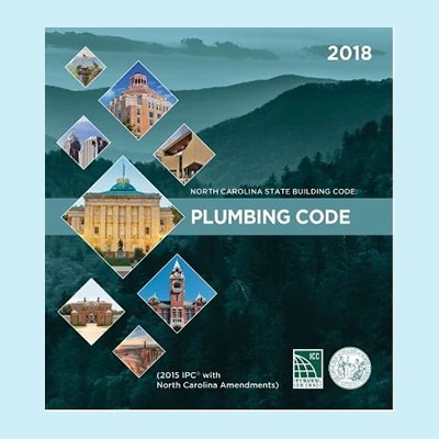 Book Image North Carolina Plumbing Code