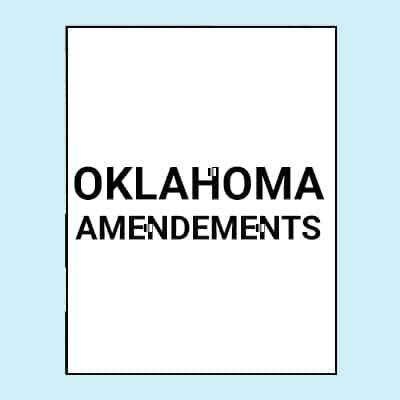 Book Image Oklahoma Amendments