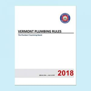 Book Image Vermont Plumbing Rules