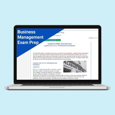 Product Image Arizona Business Management Exam Prep