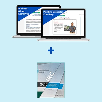Product Image Connecticut Plumbing Contractor Exam Prep Book Package