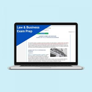 Product Image Law and Business Management Exam Prep Mississippi