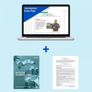 Product Image Michigan Journeyman Exam Prep Book Package