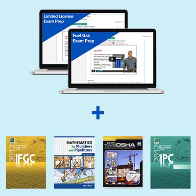 Product Image Tennesee Limited License Plumber & Fuel Gas Exam Prep & Books