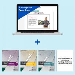 Product Image Utah Journeyman Exam Prep & Book Package