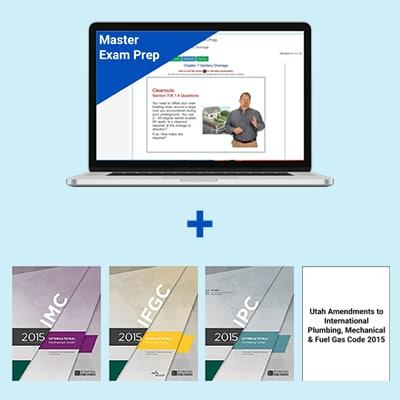 Product Image Utah Master Exam Prep & Book Package