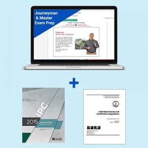 Product Image Virginia Journeyman & Master Plumber Exam Prep & Book Package