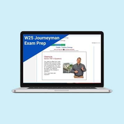 Product Image W25 Journeyman Plumber Plumber Exam Prep