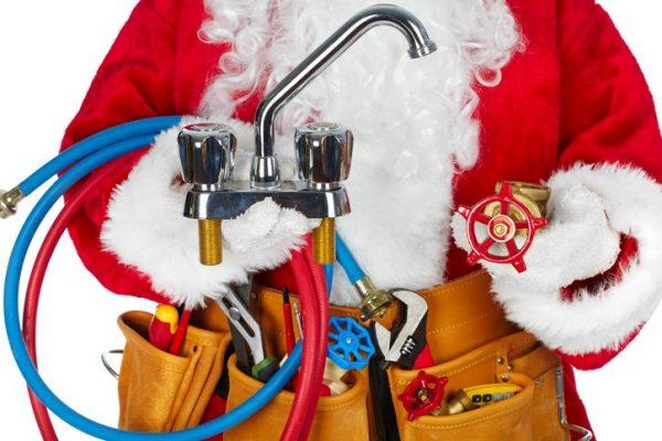 Plumbing Santa
