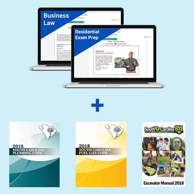 Product Image South Carolina Plumber Residential & Business Law Exam Prep & Books