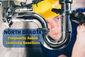 North Dakota Plumbing License Frequently Asked Questions