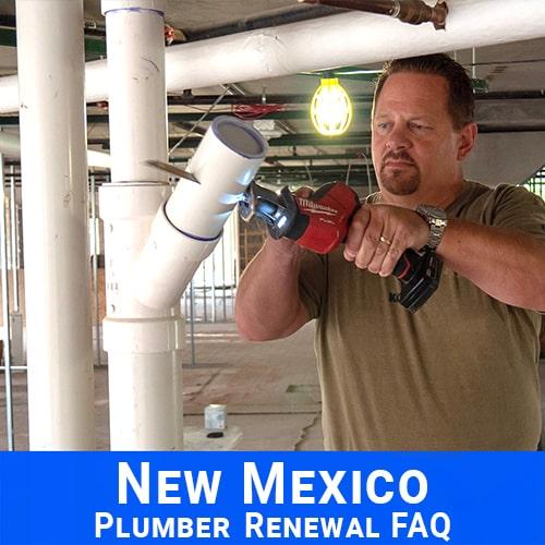 New Mexico Plumber Renewal FAQ