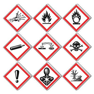 Product Image Hazard Communications