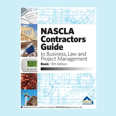 Book Image NASCLA - Contractor's Guide to Business, Law and Project Management, Basic, 13th Edition