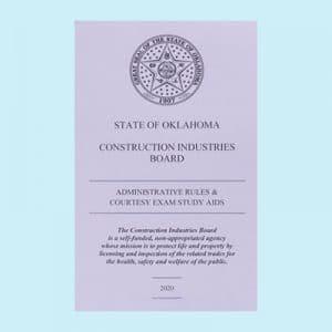 Book Image Oklahoma Rules Exam Study Guide