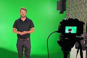 Filming at Certified Training Institute Studios