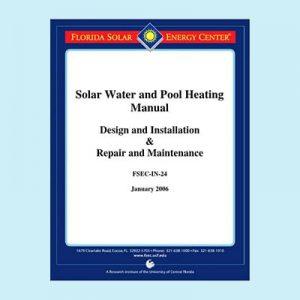 Book Image Florida Solar Thermal Manual Solar Water & Pool Heating Manual 2006