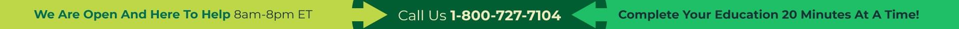 Call Us 1-800-727-7104