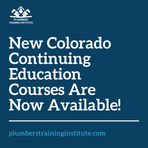 We Now Offer Continuing Education Courses in Colorado!